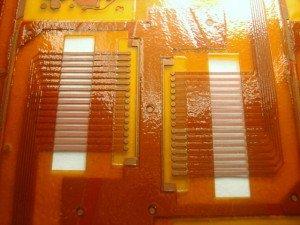 Coverlay PCB Coverlay 2 Window Skive