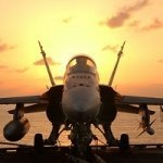 Industries hornet f a18 aircraft carrier 300x200px