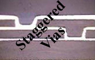 Laser Drilling Microvia staggered vias53716ceb3691e