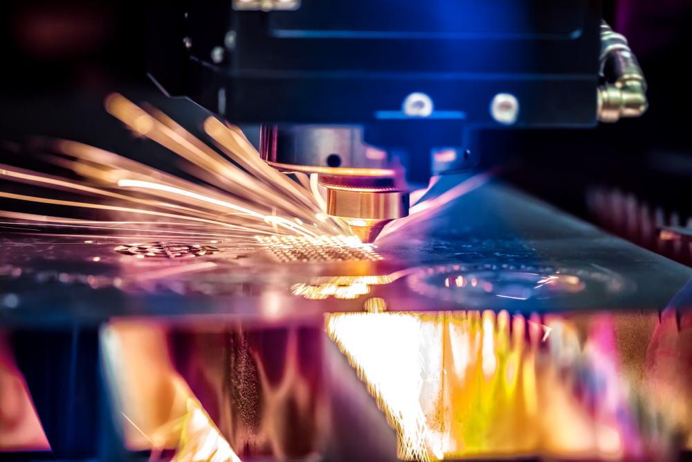 Laser Cutting cnc laser cutting of metal modern industrial techn PZYJ8MW