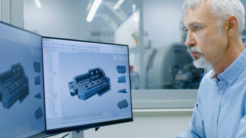 Laser Cut Nitinol engineer working with laser cut nitinol